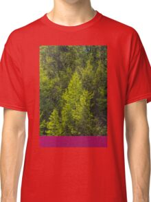 Trees and a container Classic T-Shirt