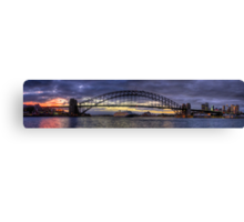 A Jewel Of a Morning  - Moods Of A City (Panoramic) - The HDR Experience Canvas Print