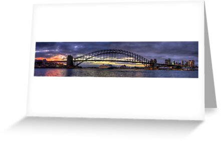 A Jewel Of a Morning  - Moods Of A City (Panoramic) - The HDR Experience by Philip Johnson