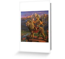 Shree Durga Greeting Card