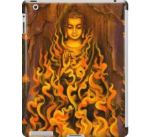 Buddha. Fire of meditation iPad Case/Skin