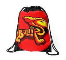 Bullies Letter Character Red and Yellow  Drawstring Bag
