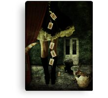 Alice in Wonderland - 20 years later Canvas Print