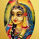 Kishori Radha by Vrindavan Das
