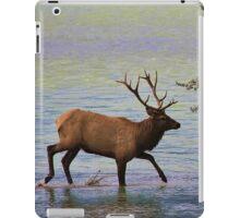Magnificent Stag in Jasper National Park iPad Case/Skin