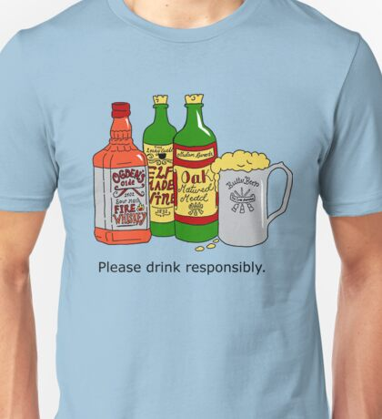 Please Drink Responsibly Unisex T-Shirt