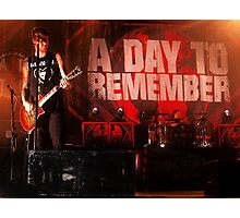 A Day To Remember Photographic Print