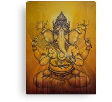 Ganesha darshan Canvas Print