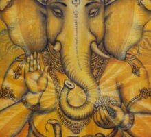Ganesha darshan Sticker