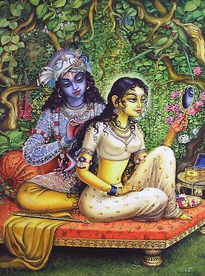 Shringar lila by Vrindavan Das