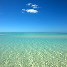 Beautiful view of the Caribbean sea  by aaxford