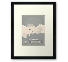 Star Wars: Battlefront - Battle of Hoth Framed Print