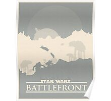 Star Wars: Battlefront - Battle of Hoth Poster