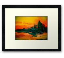 Away To The Woods... Framed Print