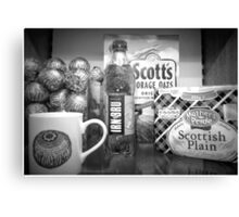 Scottish Goodies... Canvas Print