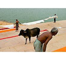 Dhotis. Pushkar Photographic Print