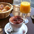 Breakfast in Paris by Christine  Wilson
