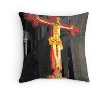 Crucifix Throw Pillow