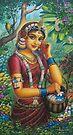 Radha by Vrindavan Das
