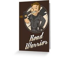 Warrior of the Road Greeting Card