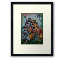 Radha Kunjabihari Framed Print