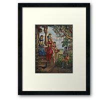 Krishna as shaiva sanyasi Framed Print