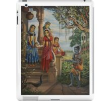 Krishna as shaiva sanyasi iPad Case/Skin