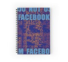 I DO NOT USE I AM 04 Spiral Notebook