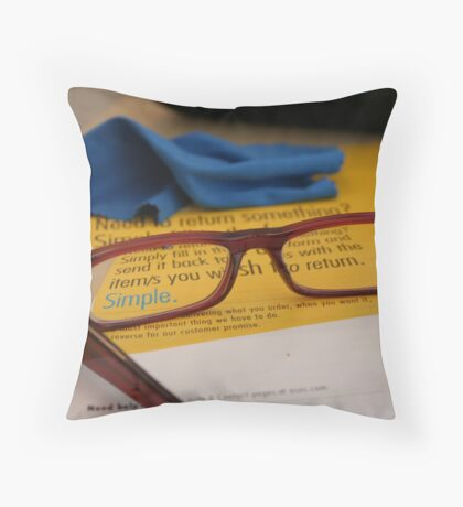 Challenge by Margot for Sejourner or Challenge for Margot by Sejourner Throw Pillow