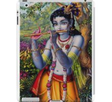 Krishna with flute iPad Case/Skin