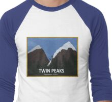 Peak Viewing Men's Baseball ¾ T-Shirt