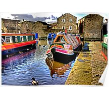 Skipton Canal Basin #2 Poster