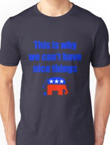 Anti-Republican Humor Unisex T-Shirt