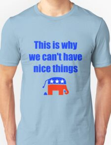 Anti-Republican Humor T-Shirt