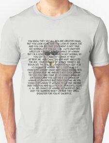 Scott Steiner Mania Transparent T-Shirt