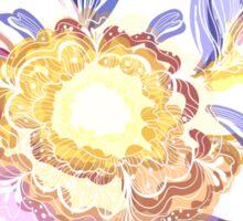 Magic Floral Pattern Sticker