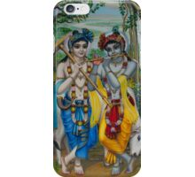 Krishna and Balaram iPhone Case/Skin