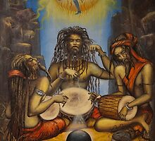 Dance of Shiva by Vrindavan Das