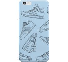 Three Stripe Sneakers iPhone Case/Skin