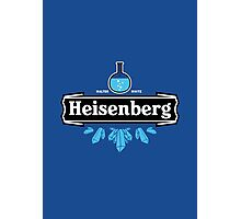 Heisenberg Blue Crystal Photographic Print