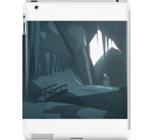 Low Poly - The adventurers grave iPad Case/Skin