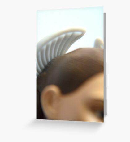 Angelic. Greeting Card
