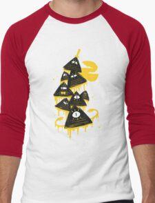 """Night Parade"" Men's Baseball ¾ T-Shirt"