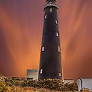 Dungeness Lighthouse at Dusk by Dave Godden