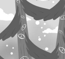 """Watching Trees"" Sticker"
