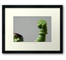 Fist!! Framed Print