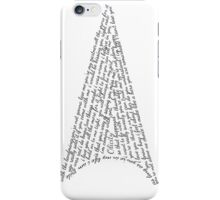 The Olicity quotes Arrow iPhone Case/Skin
