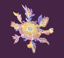 Sketch Magic Flowers Pattern Unisex T-Shirt