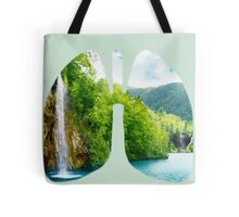 Lungs of fresh air Tote Bag