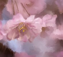 A Profusion Of Playful Pinks by Lois  Bryan